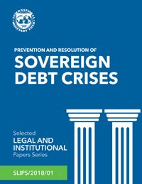 Cover Prevention and Resolution of Sovereign Debt Crises