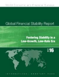 Cover Global Financial Stability Report, October 2016