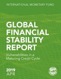 Cover Global Financial Stability Report, April 2019