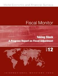 Cover Fiscal Monitor, October 2012