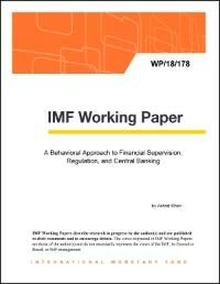 Cover IMF Working Papers