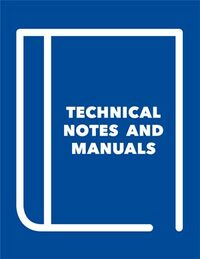 Cover Technical Notes and Manuals