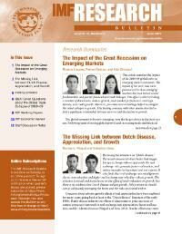 Cover IMF Research Bulletin